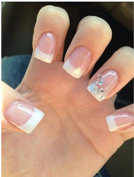 Brautnagel Schlicht Aussehen Wedding Nails Design Nails Und