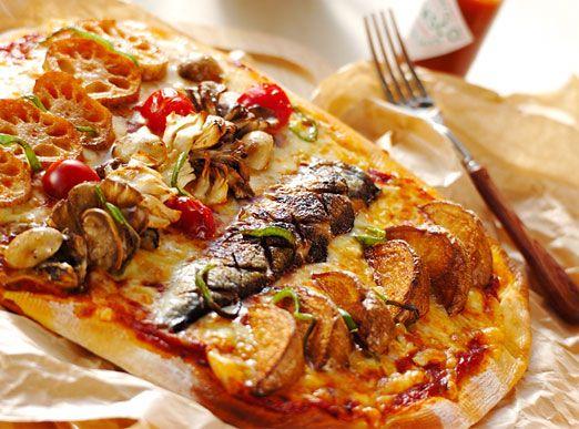 手作り生地のピザのレシピ・作り方 - 簡単プロの料理レシピ | E・レシピ