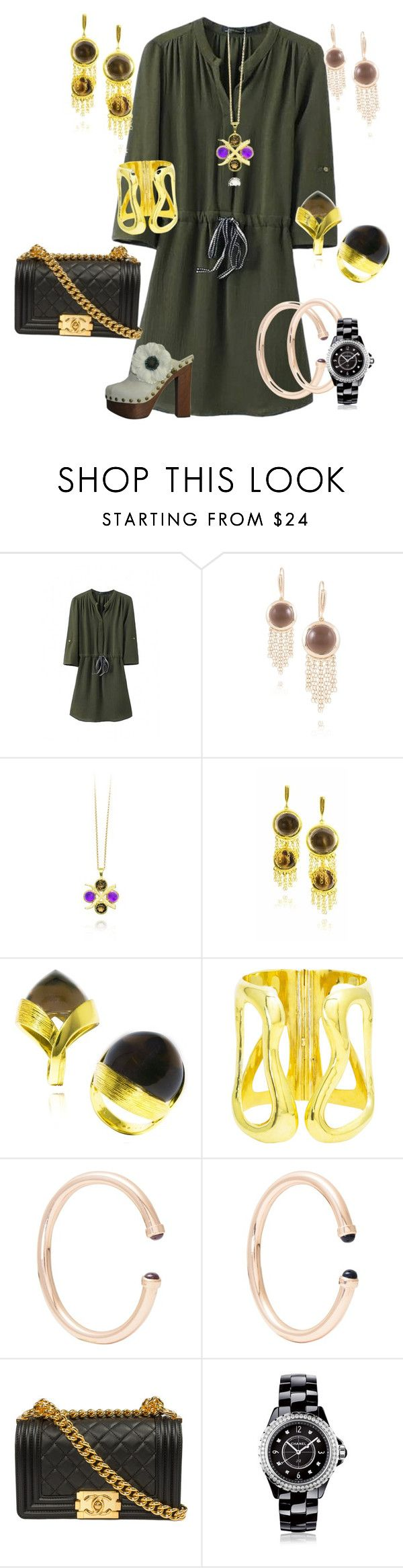 """Boho with glitz"" by mateobrown-jewellery on Polyvore featuring Chanel"
