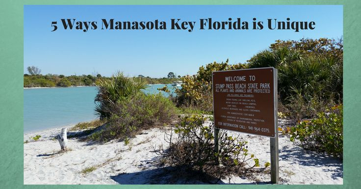 5 Ways Manasota Key Florida is Unique!