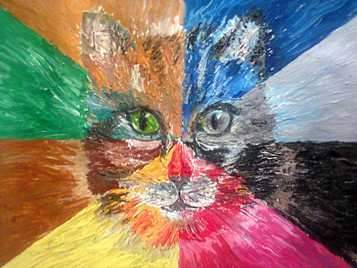 OTTO Gatto 50×35 cm. olio su Fabriano ruvido 2015 Vote for this artwork!Please clickFacebook like,Twitter, PinterestandGoogle plus Vota questa opera!CliccaMi piacesu Facebook,Twitter, PinteresteGoogle plus Danilo Fiore(Bologna– Italia),nato a Bologna, ho studiato grafica, illustrazione, e arte in maniera autodidatta. Dal 2013 porta avanti attivamente la sua arte.Ha esposto a Rovigo, Modena, Fiorano, ed è apparso su …