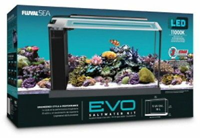 Aquariums and Tanks 20755: Fluval Sea Evo Saltwater Aquarium Kit 5 Gallon -> BUY IT NOW ONLY: $122.49 on eBay!