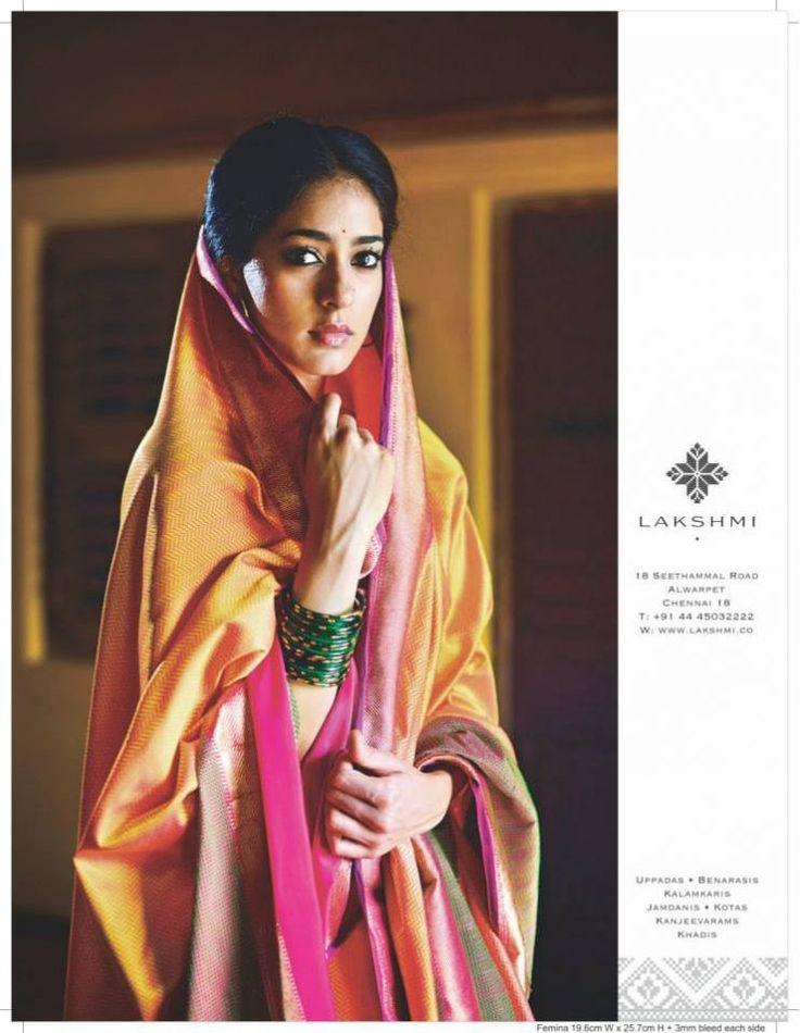 Lakshmi presents an exquisite collection of saris — Uppadas, Benarasis, Kalamkaris, Jamdanis, Kotas, Kanjeevarams, Khadis —curated by Vani Polavaram.