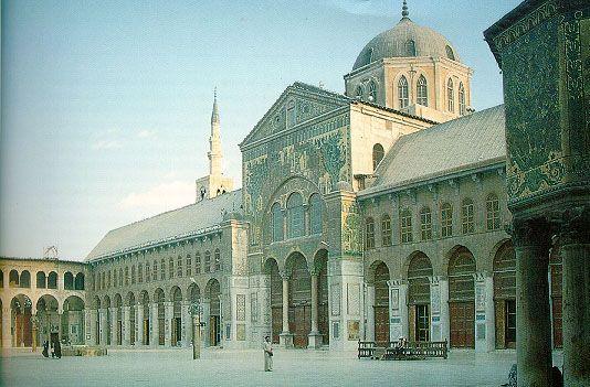 The Umayyad Great Mosque, Damascus