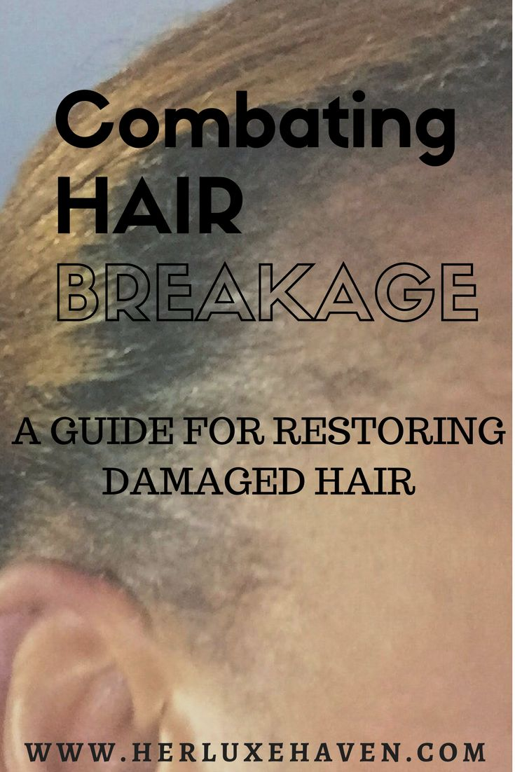 Tips on Combating Hair Breakage