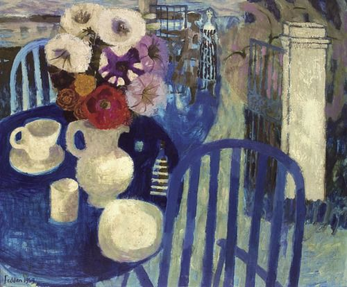 The Blue Table, 1959, Mary Fedden. English (1915 - 2012)