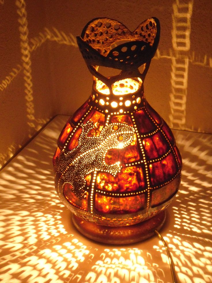 يوم التخرج, afstudeerdag, Easter, Mother's, Österliche Gourd lamp gourd art Turkish pendant lizard crocodile decor lustre moroccan bohemian