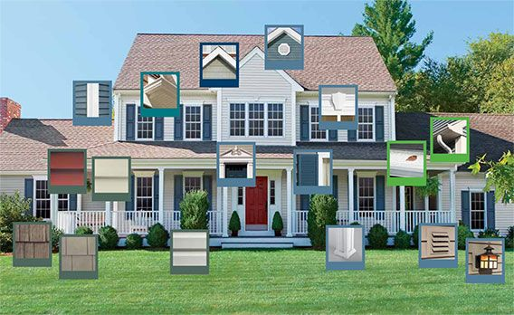 17 best ideas about mastic siding on pinterest siding colors home exterior colors and siding - Mastic home interiors ...