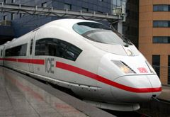 High-speed ICE3 train from Brussels to Cologne & Frankfurt (Train travel throughout Europe)