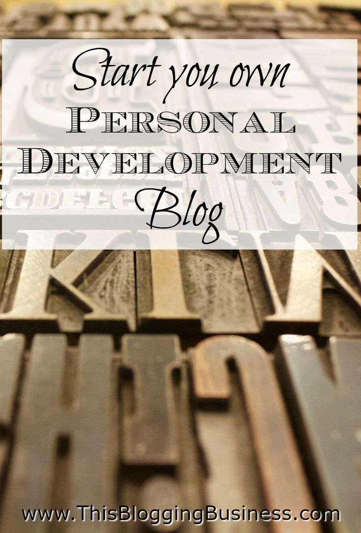 Instructions on how to start your own personal development blog - or any blog for that matter. This post details how to register a domain name, set up a hosting account, connect the domain name to your hosting account and then how to install wordpress on your domain, via your hosting account. it sounds like a lot, but it's really not so bad when you just go step by step. And you only need to do this once!