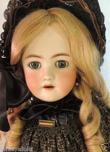 Handwerck/ Simon & Halbig Antique German bisque doll, 26 IN