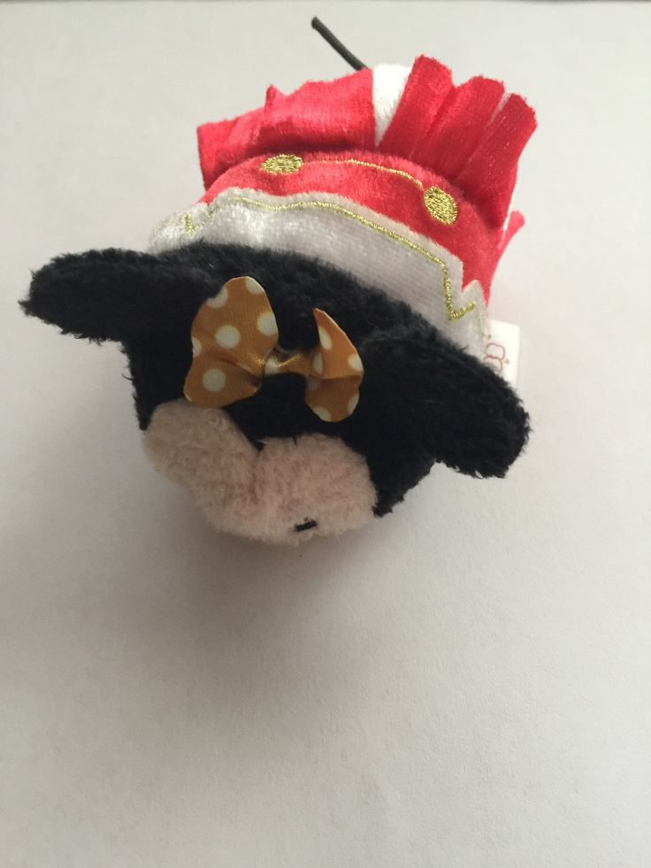 Disney Store Japan Minnie Mouse Tsum Tsum Mini Plush 3rd Anniversary New