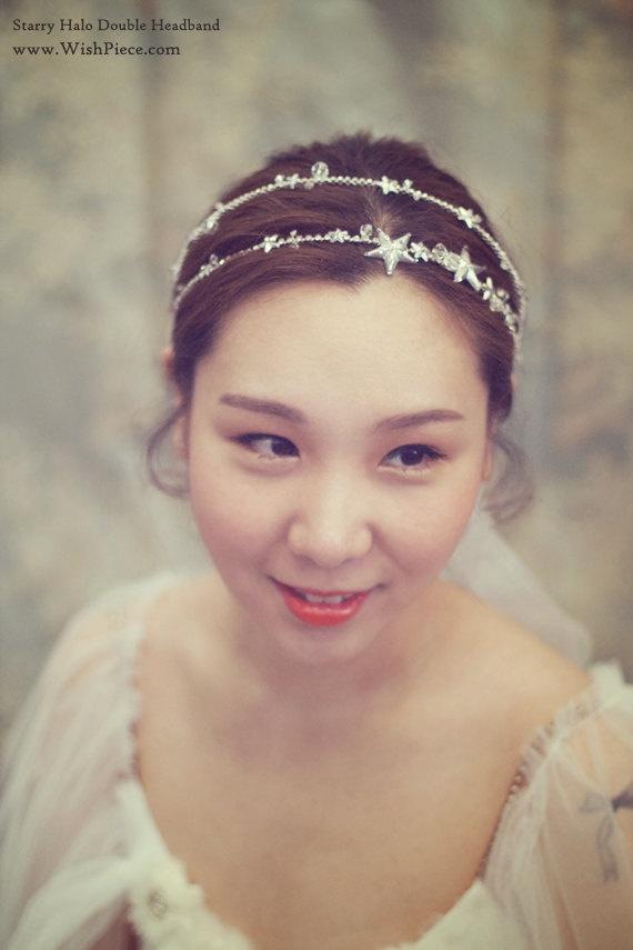Wedding Headband Stars And Crystals