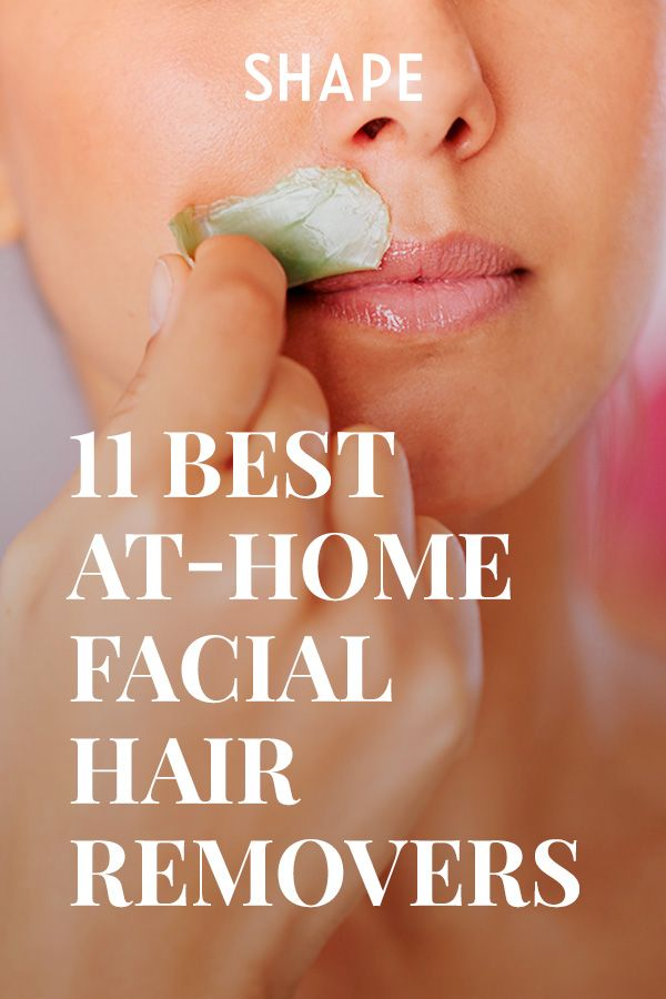 The Best At Home Products For Removing Facial Hair Face Hair