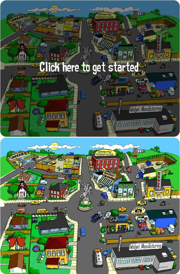 Recycle City - games, activities, scavenger hunt, and other great teaching ideas about the 3 Rs. kids and money, teachiing kids about money #kids