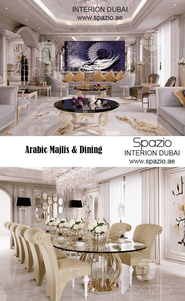 Majlis Interior Design In Dubai Luxury House Interior Design Interior Design Modern Houses Interior