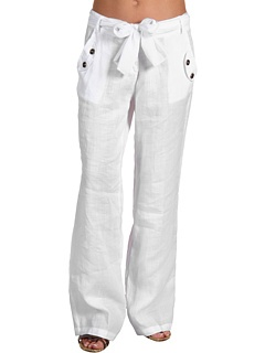 Brigitte Bailey - Alandra Linen PantsCant Wait, Linen Pants, Brigitte Baileys, White Linens, Linens Pants, Pants Classic, Beachy White, Brachi White, Nice Summer