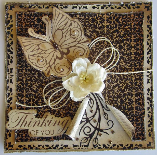 Artdeco Creations Brands: Thinking of You Cards by Kerrie Gurney
