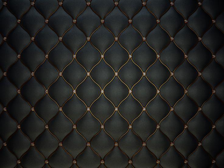 黑色镶钻软包背景图片下载