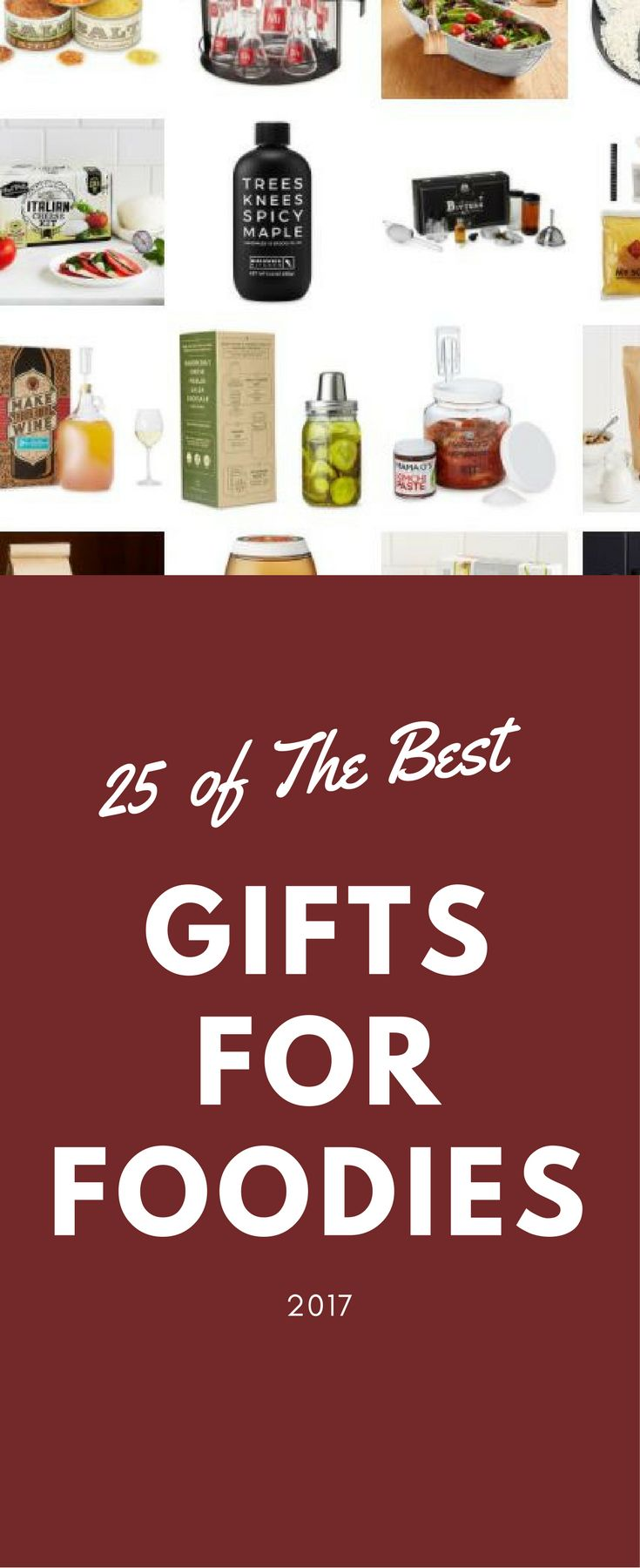 Exotic Flavors, Diy Kits, Spice Kits, Salt Kits and more. Got a Foodie Lover? Check out this list of the best gift for foodie lovers for Christmas 2017!
