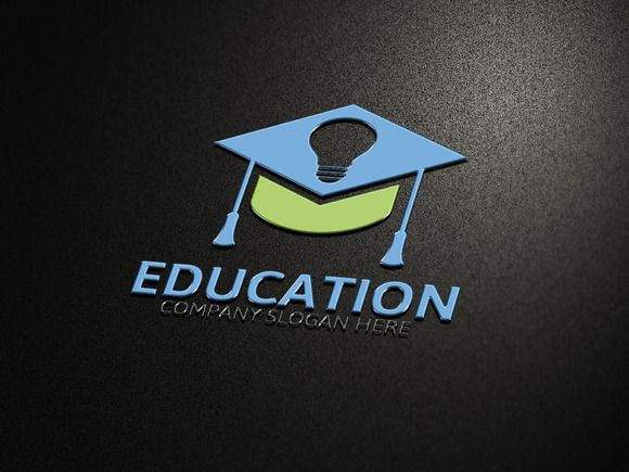 Education Logo by Josuf Media @creativework247