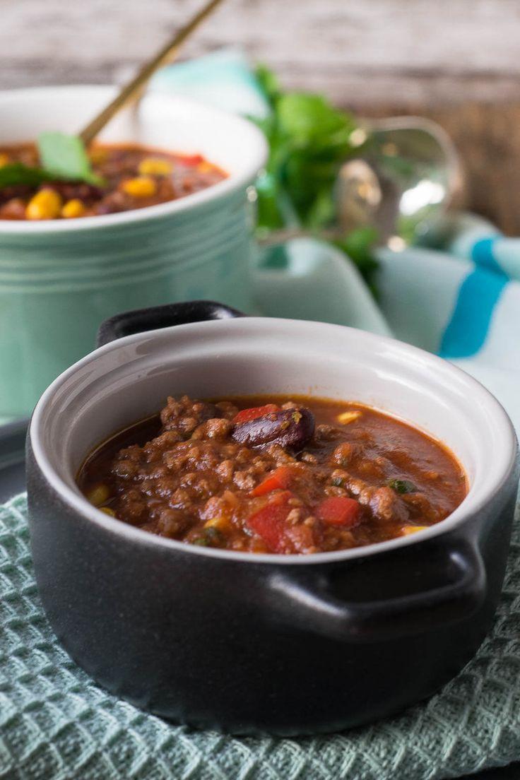 Chili con carne from the Slowcooker   – *Einfach Malene – Blog Rezepte*