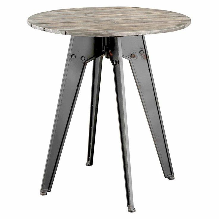 cumberland metal wood round end table cumberland metal dining room bar rec bargu mango wood side table