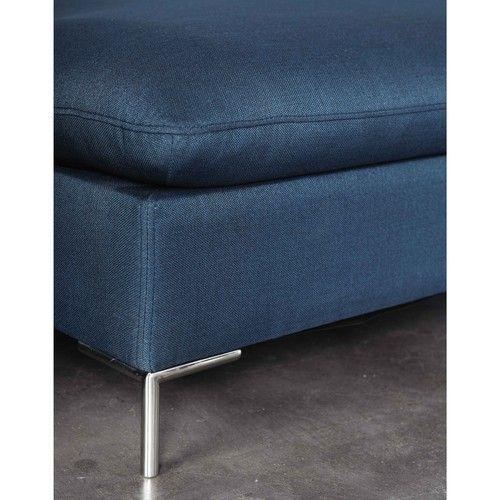 oltre 25 fantastiche idee su divano in tessuto su pinterest ... - Ampio Divano Ad Angolo In Tessuto Grigio Bianco