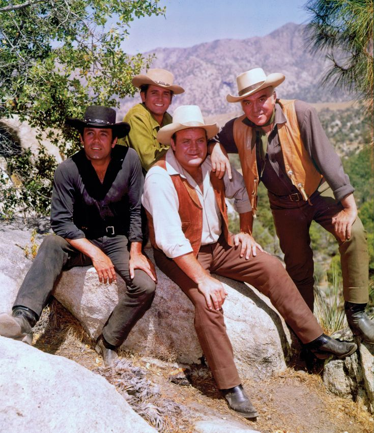 """The Cartwrights...""""Bonanza.""""  I do not care what anyone says.  This is one of the all time greats."""