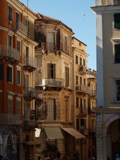 heart of the city, Corfu, Greece