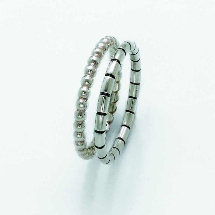 Stříbrný prsten Dvojče AKCE 2+1 ZDARMA