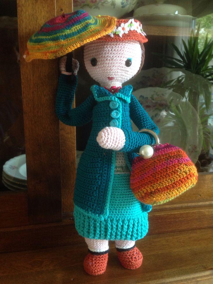 Mary Poppins lalylala made by Mrs. B