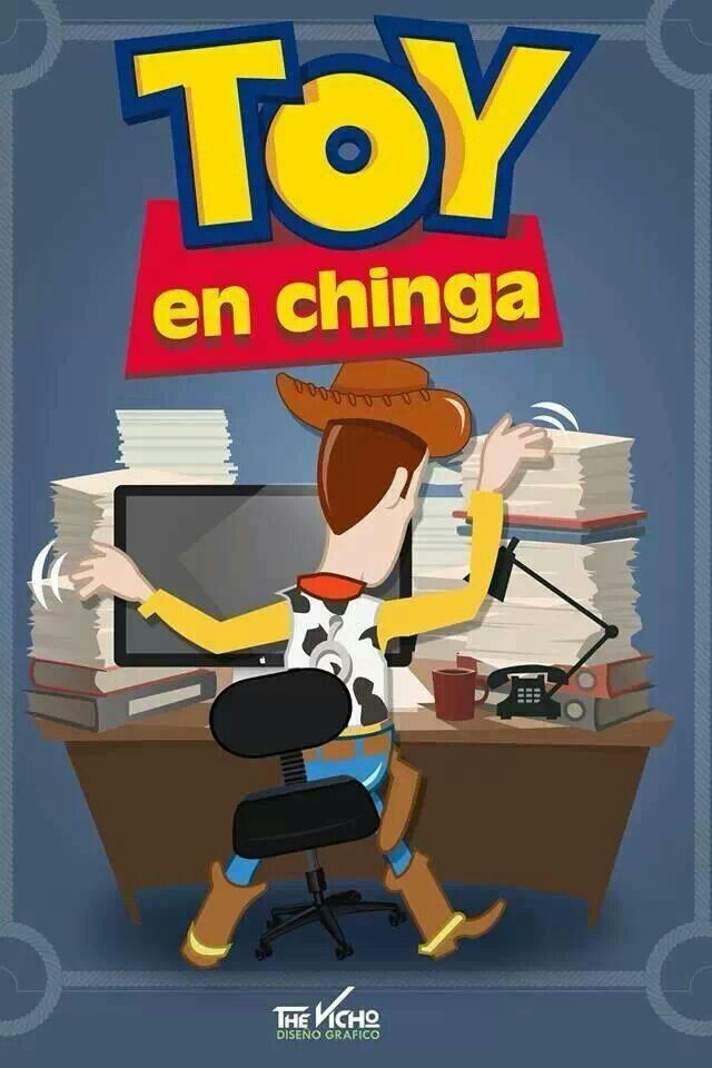 Toy en chinga...