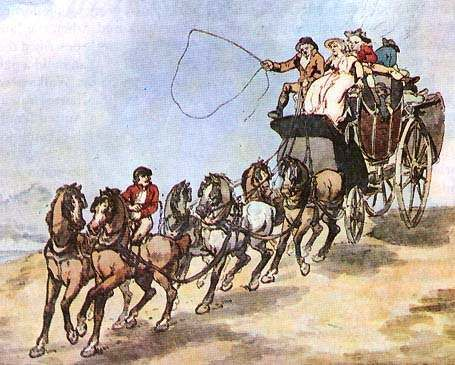 Travel in Regency England. (First blog post of three)