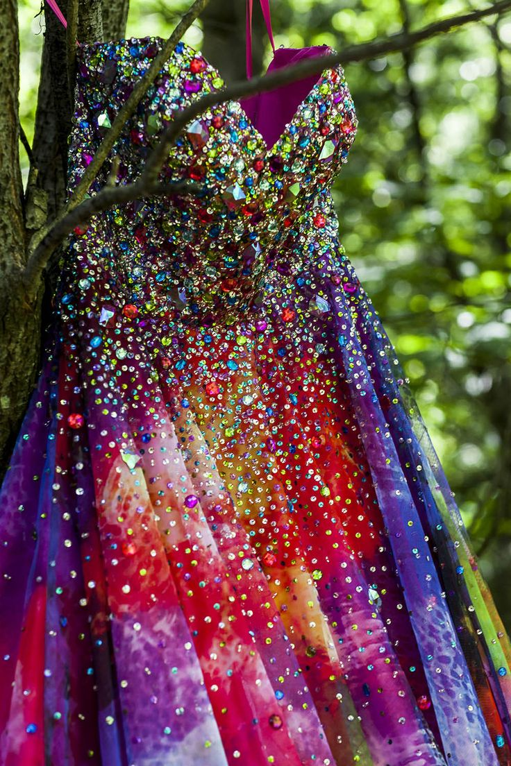Best 25 rainbow wedding dress ideas on pinterest rainbow rainbow summer camp wedding sara joe more junglespirit Image collections