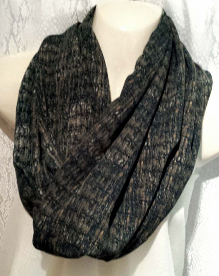 Teal mobius scarf by Scarfgoroundboutique on Etsy