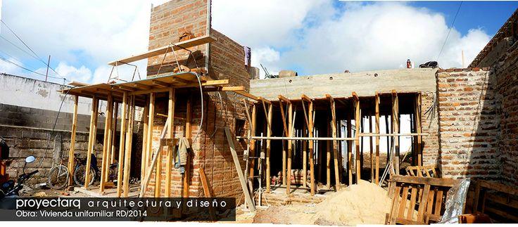 Ejecución de obra #vivienda / Estudio proyectarq -arquitectura y diseño-