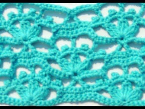 Crochet: Punto Combinado # 26 - YouTube