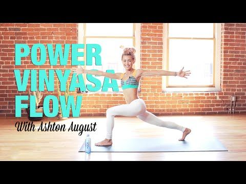 20-Minute Power Vinyasa Yoga Flow (Free Class)