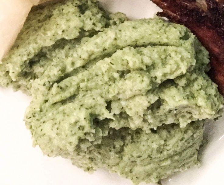 Rezept Brokkolipüree / Broccolipüree Low Carb von wonnie77 - Rezept der Kategorie Beilagen