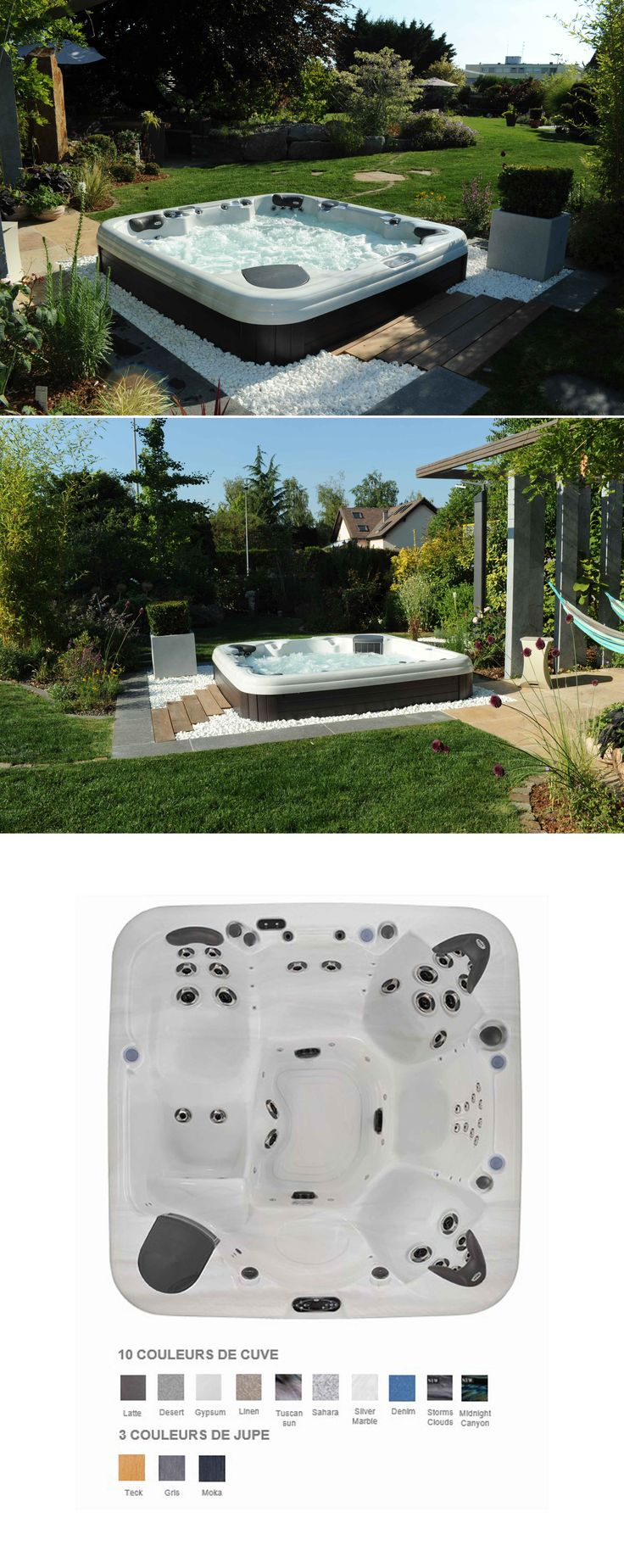 8 best hot tubs images on pinterest bubble baths hot tubs and jacuzzi. Black Bedroom Furniture Sets. Home Design Ideas