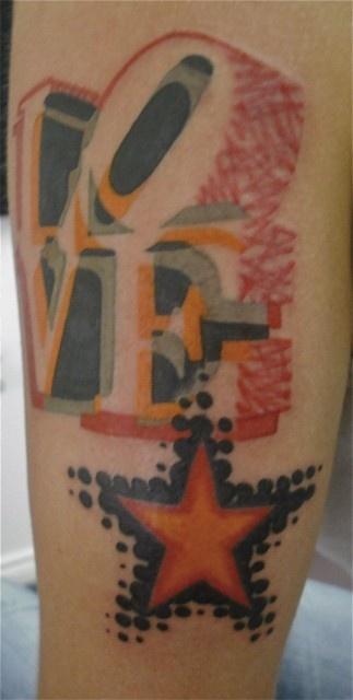 Pop Tattoo by Jean-François Palumbo at Boucherie Moderne in Belgium