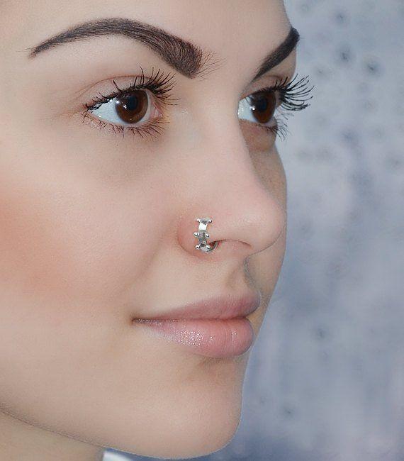 Daith Earring Nose Hoop Tragus Hoop Septum 24g Cartilage Ring 24