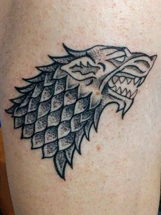 Tatuajes para los amantes de Juego de Tronos #tatuajes #tattoos