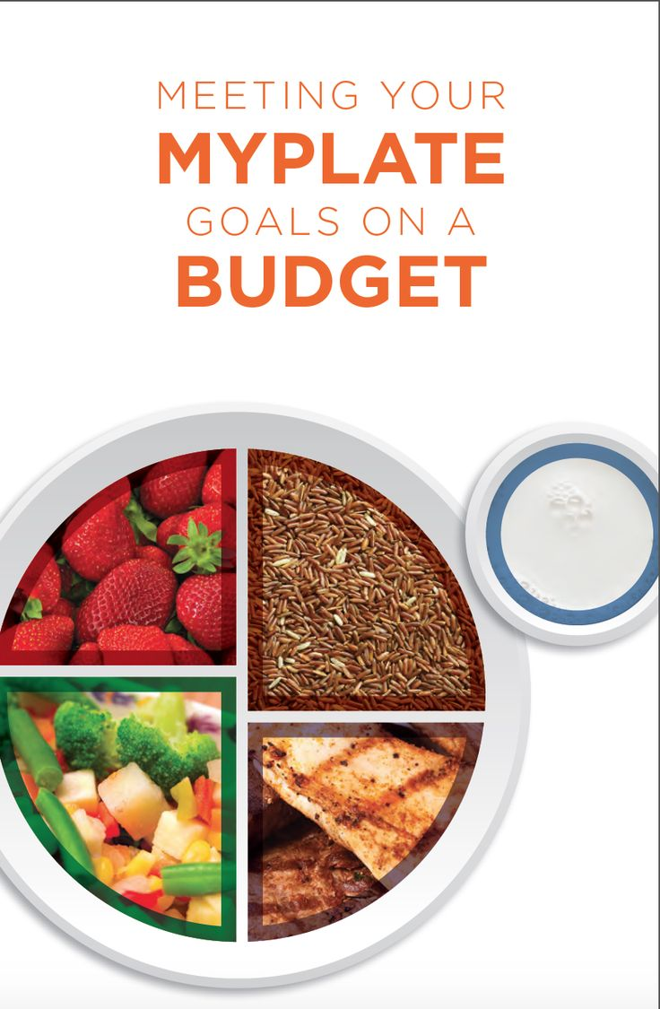 Throughout this guide you'll find many ideas for making healthy, affordable choices using MyPlate as a guide. You'll also get recipes and cooking tips to make those healthy foods taste great for your family.