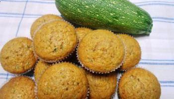 Muffins de Zucchini