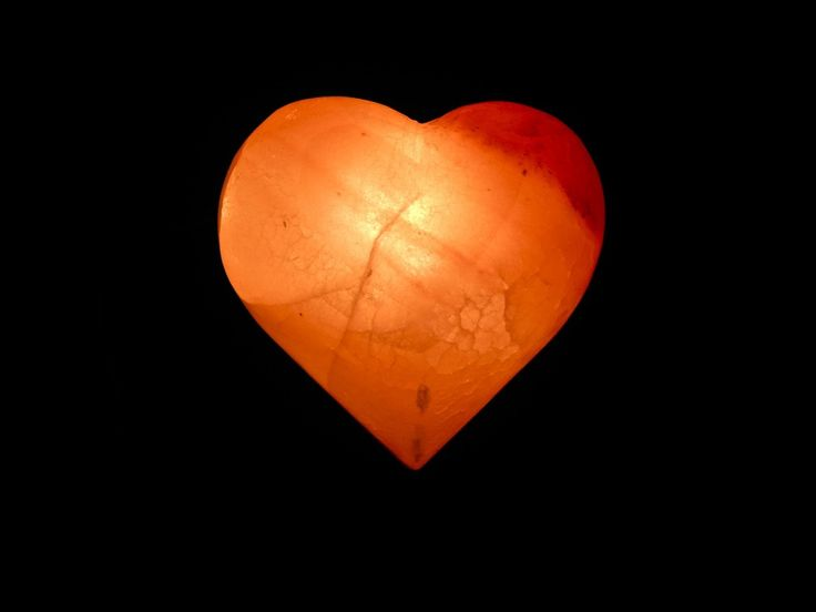 Large heart himalayan salt lamp with dimmer average for Himalayan salt lamp what size