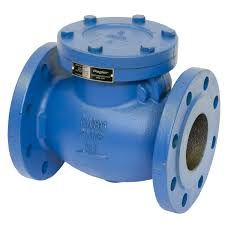 this is an image of a check valve that has been used within the valve pit of my sewage pump station.