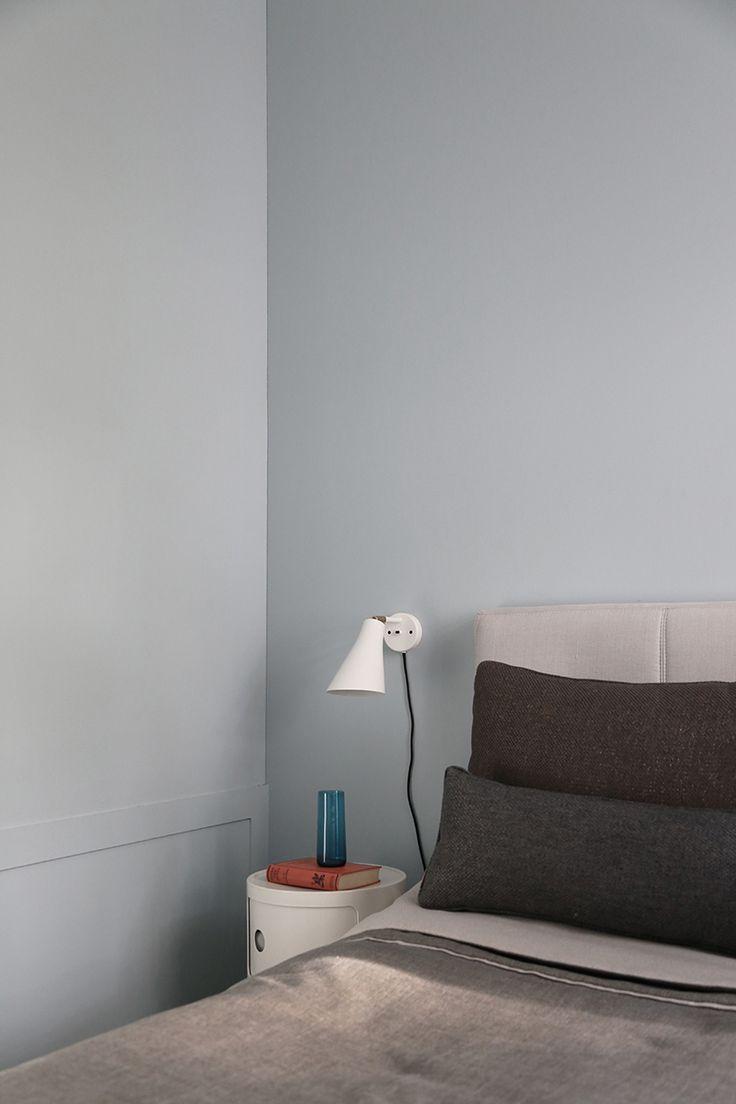 Apartment @ Katajanokka, Helsinki. Interior design and styling by Poiat. Wall light by Rubn
