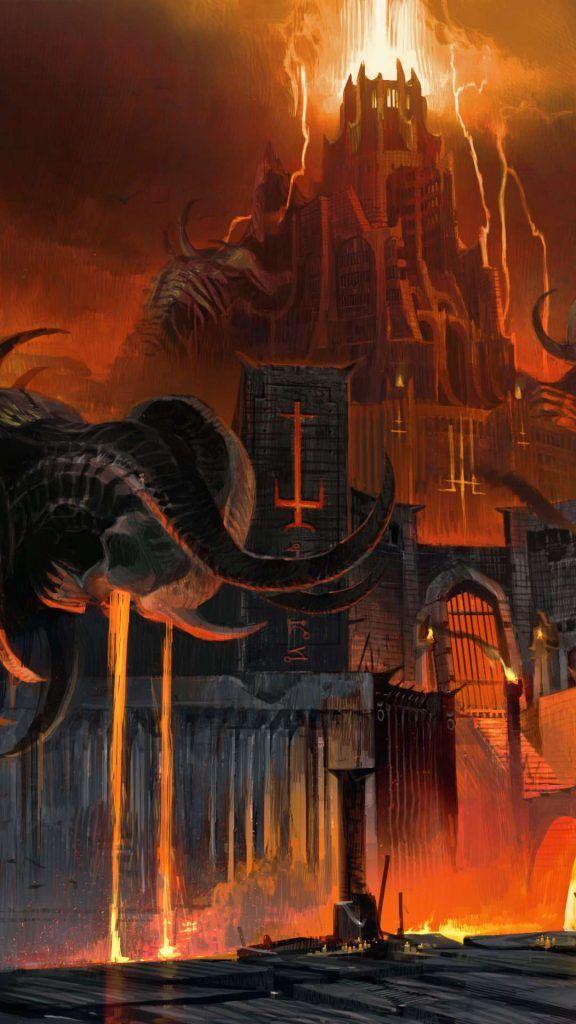 Fondos De Pantalla De Doom Eternal En 2020 Castillo De Fantasia Fondos De Pantalla De Juegos Fotos Increibles